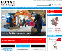 LOHKE Materieludlejning